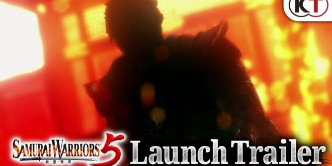 SAMURAI WARRIORS 5 ya a la venta para Switch, PS4, Xbox One y PC - Tráiler lanzamiento
