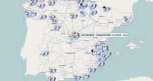 Operación salida: ¿Cómo consultar el tráfico y los atascos de las carreteras? Recomendaciones de la DGT
