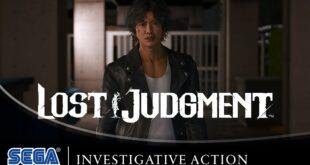 La investigación detectivesca en el nuevo tráiler de Lost Judgment