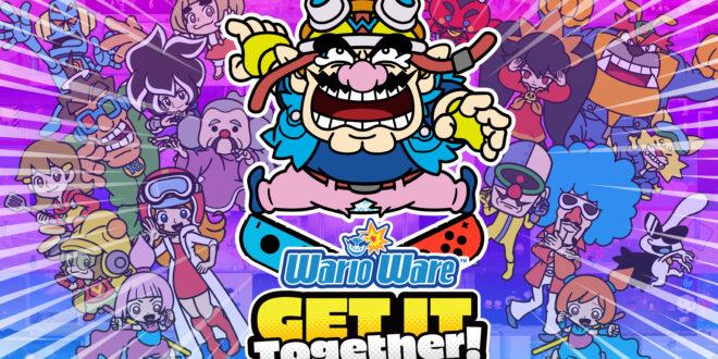 Descubre los microjuegos más locos deWarioWare: Get It Together!en su nuevo tráiler