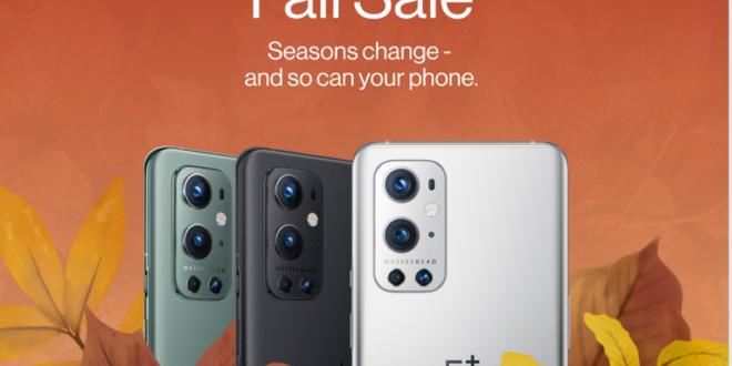 OnePlus anuncia fabulosas ofertas de rebajas de otoño en toda Europa