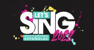 Anunciado Let's Sing 2022 Incluye Canciones Españolas, la nueva versión de la aclamada serie de karaoke