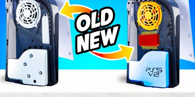 La nueva versión de PS5 Digital Edition logra ser más ligera por un cambio en su refrigeración