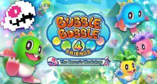 Bubble Bobble 4 Friends se lanzará en PC este verano