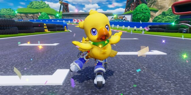 Anunciado Chocobo GP para Nintendo Switch