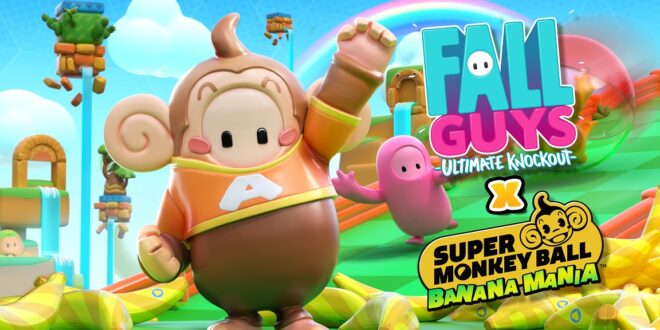 Super Monkey Ball Banana Mania anuncia colaboración con Fall Guys: Ultimate Knockout