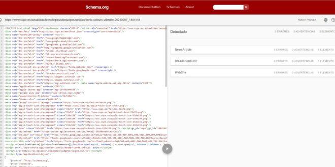 SEO: Validar los datos estructurados de tu página web para mejorar tu posicionamiento