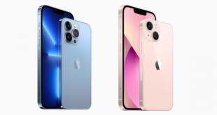 iPhone 13 llegarán al mercado el 24 de septiembre con precios que oscilan entre 809 y 1.839 euros