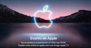 Cómo ver la presentación del iPhone 13, Watch Series 7 y más a las 19 h el 14 de septiembre. Keynote Apple 2021 California Streaming
