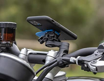 No montes el iPhone en una moto. Puedes dañar su cámara.