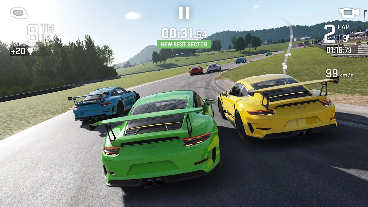 Real Racing Next el mejor juego de coches para móviles ya está en pruebas.
