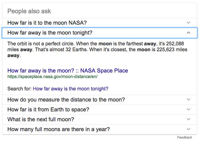 Resultados universales en Google