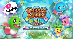 Bubble Bobble 4 Friends: The Baron's Workshop llega a Steam el 30 de septiembre