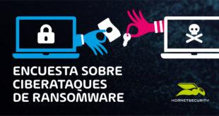 1 de cada 5 empresas ha sufrido un ataque de ransomware, según una encuesta de Hornetsecurity